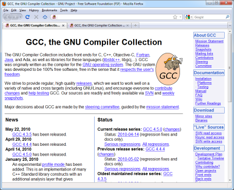GCC Site Before