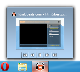 Thumbnail toolbar