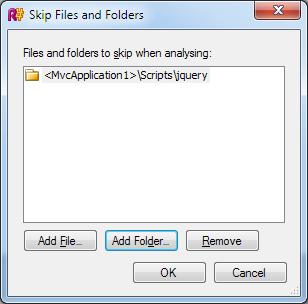 Skip jQuery folder