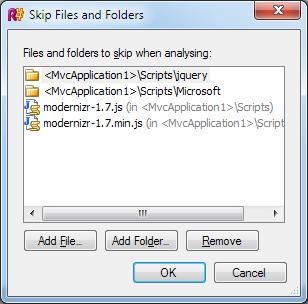 Skip Files and Folders